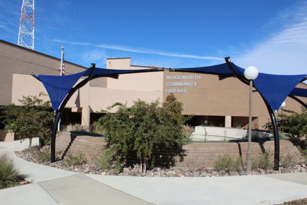 Things to do in Lea County: The Woolworth Community Library